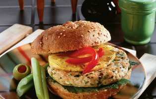 Broiled Turkey Burgers