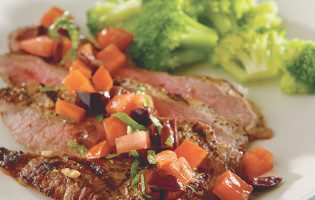 Flank Steak with Italian Salsa