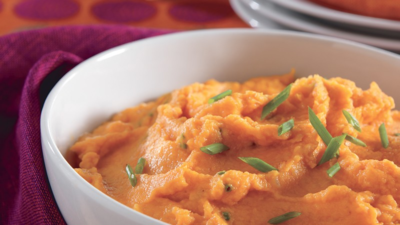Mashed Sweet Potatoes and Parsnips