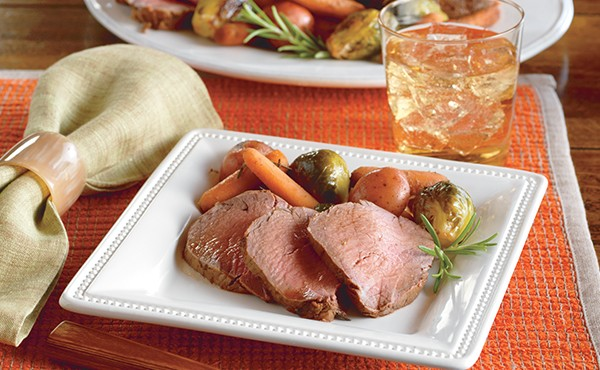 Beef Tenderloin with Roased Vegetables