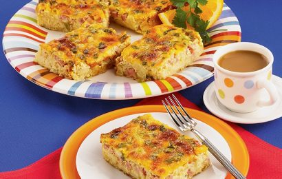 Hash Brown Breakfast Casserole for Diabetics