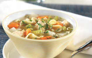 Vegetable-Chicken Noodle Soup