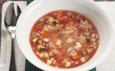 30-Minute Minestrone with Barley