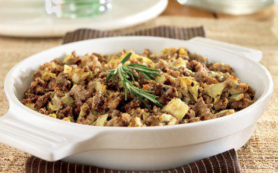 Beef and Artichoke Casserole