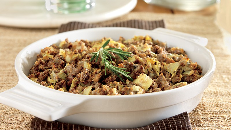 Diabetic Beef and Artichoke Casserole Recipe