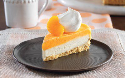 Dreamy Orange Pie