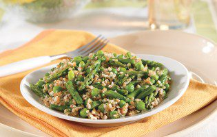 Bulgur with Asparagus and Spring Herbs