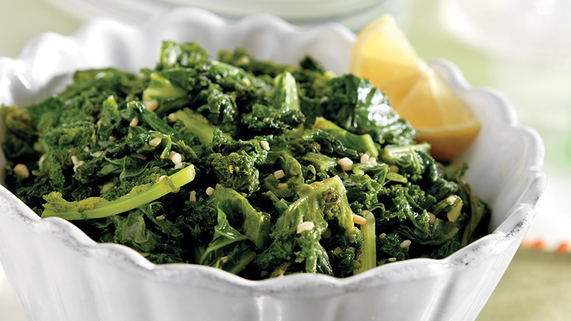 Kale with Lemon and Garlic