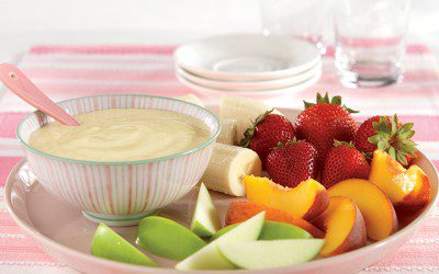 Vanilla Almond Fruit Dip