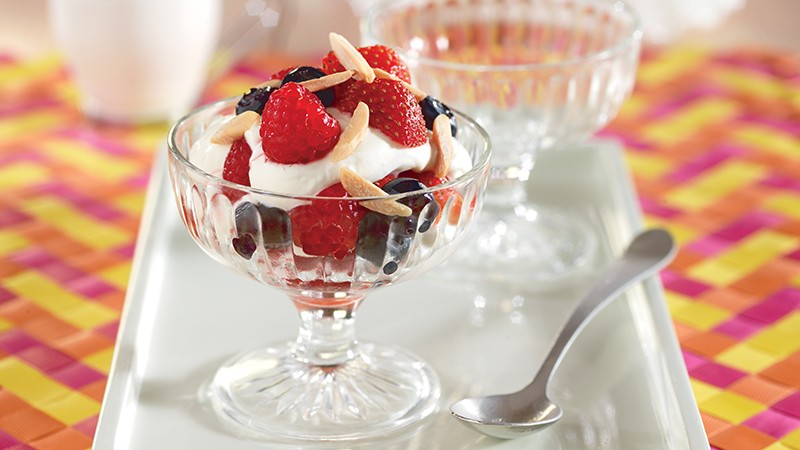 Almond Berry Parfaits