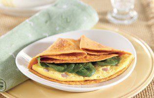 Egg and Bacon Brunch Wraps