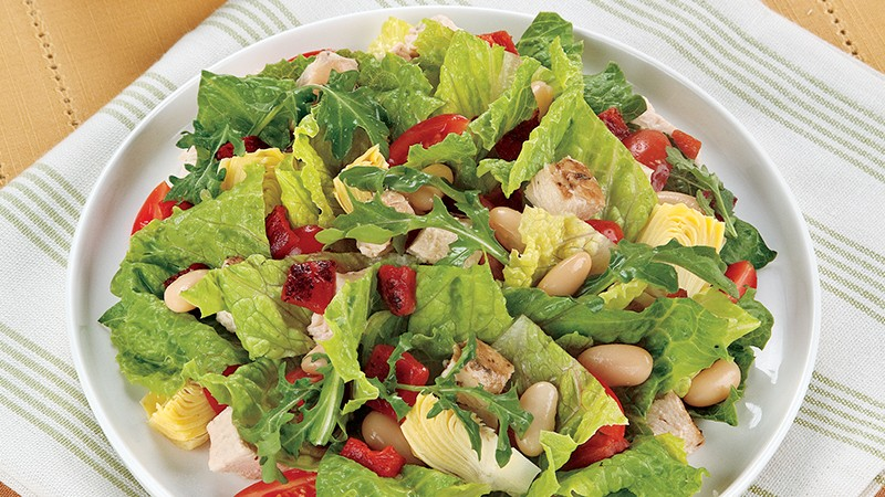 Chopped Roasted Chicken Salad