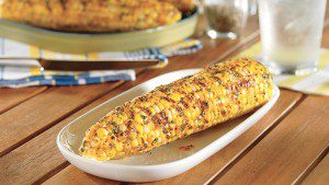 Grilled Corn on the Cob with Buttery Citrus Spread