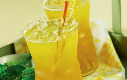 Mint-Green Tea Coolers