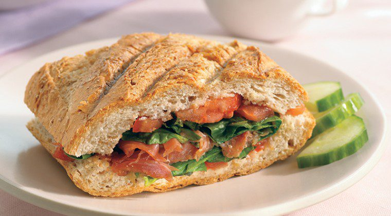 Tomato and Prosciutto Panini Sandwiches