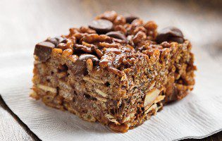 Chocolate-Almond Crispy Treats