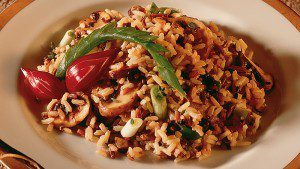 Wild & Brown Rice with Exotic Mushrooms