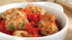 Turkey and Veggie Meatballs with Fennel