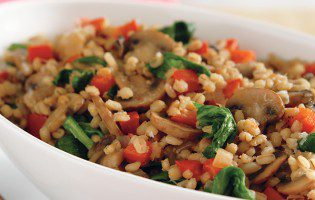 Barley & Vegetable Risotto