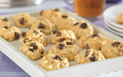 Quick Chocolate Chip Cookie Cakes