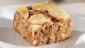 Upside-Down Apple & Walnut Spice Cake Recipe for Diabetics