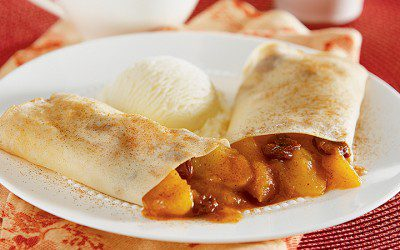 Apple-Cranberry Crêpes