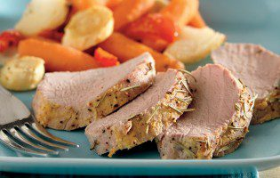 Rosemary Roast Pork Tenderloin and Vegetables