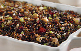 Wild Rice, Mushroom, and Cranberry Dressing