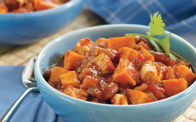 Chicken and Sweet Potato Chili for Diabetics