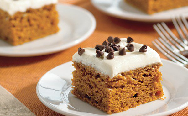 Wholesome Chocolate Chip Pumpkin Bars