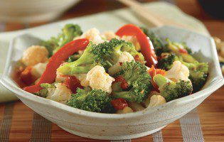 Broccoli & Cauliflower Stir-Fry