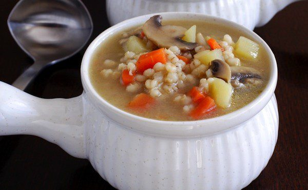 Country French Barley Vegetable Potage