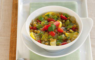 Moroccan Lentil & Vegetable Soup