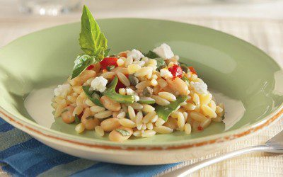 White Bean and Orzo Salad