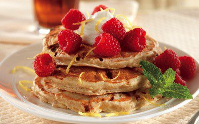 Cottage Cheese-Lemon Pancakes