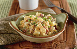 Hash Brown Casserole with Bacon