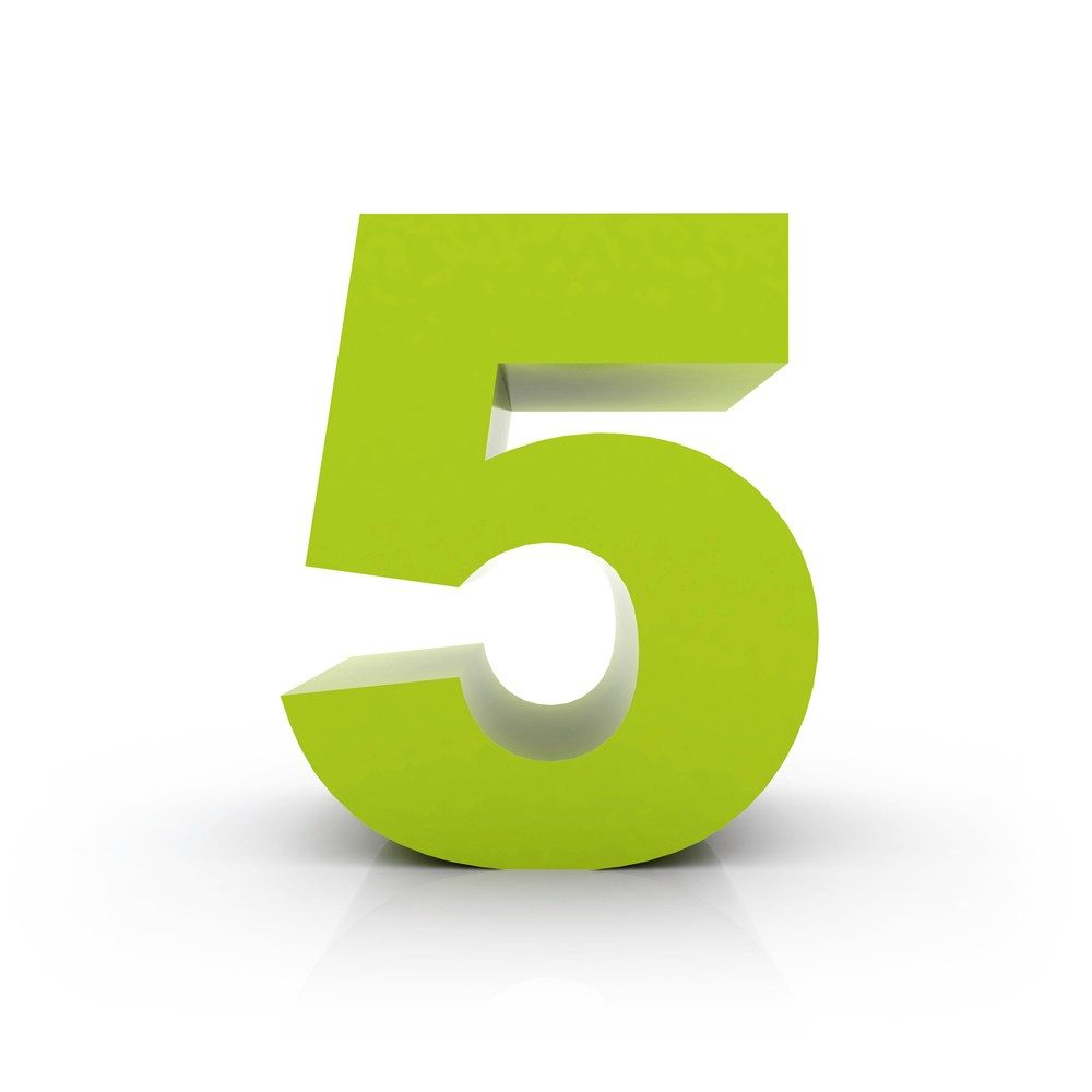 The Power of Five for Health
