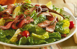 Sirloin Steak Antipasto Salad