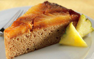 Upside-Down Pineapple Cake