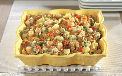 Scallop and Artichoke Heart Casserole