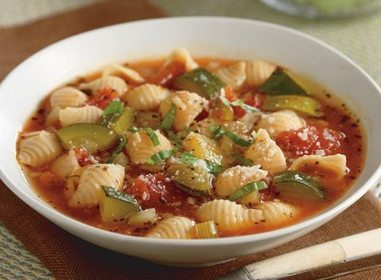 Italian Pasta Soup With Fennel