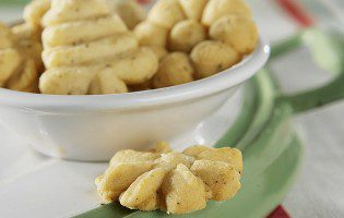 Browned Butter Spritz Cookies