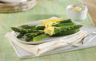 Asparagus with Lemon & Mustard