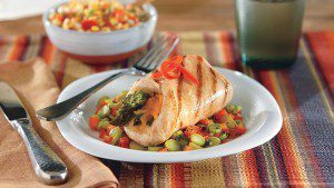 Asparagus and Cheddar Stuffed Chicken Breasts