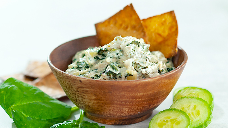 Spinach, Crab, and Artichoke Dip