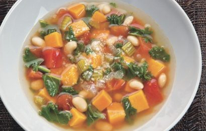 Sweet Potato Minestrone