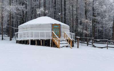 Winter Yurt Weekend for Adults With Type 1 Diabetes