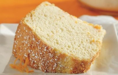 Orange and Apricot Chiffon Cake