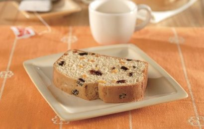 Raisin-Apricot Loaf Cake