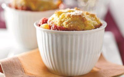 Berry-Peachy Cobbler